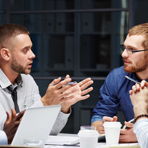 Corporate strategy for collaborative thinking